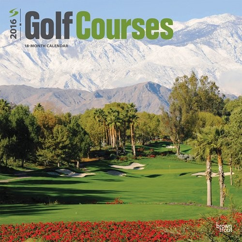 Kalendář 2017 Golf