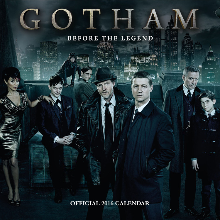 Kalendár 2017 Gotham