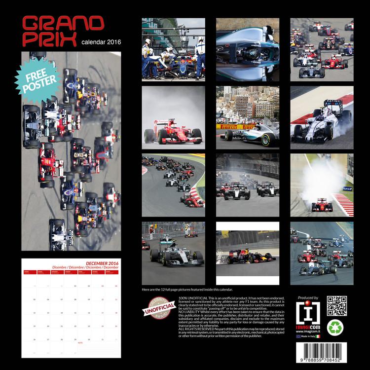 Kalendár 2018 Grand Prix