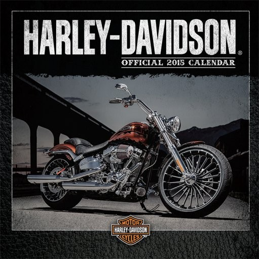 Kalendář 2017 Harley Davidson