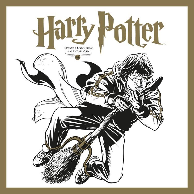 Kalendář 2017 Harry Potter