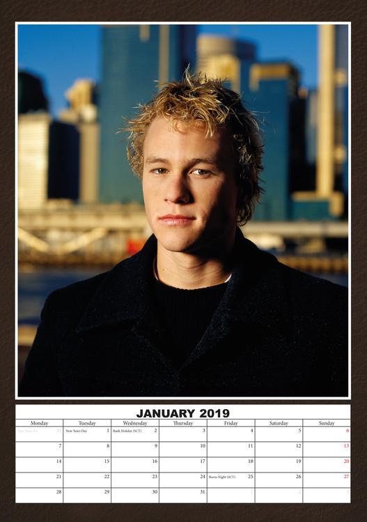Kalendář 2019  Heath Ledger