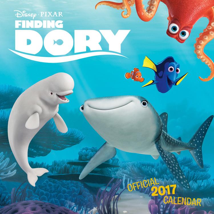 Kalendár 2017 Hľadá sa Dory