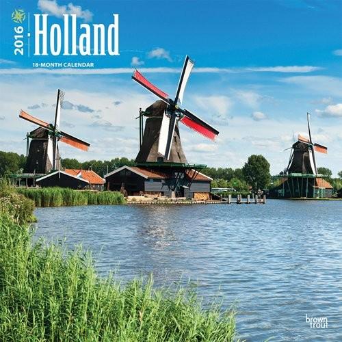 Kalendár 2017 Holandsko