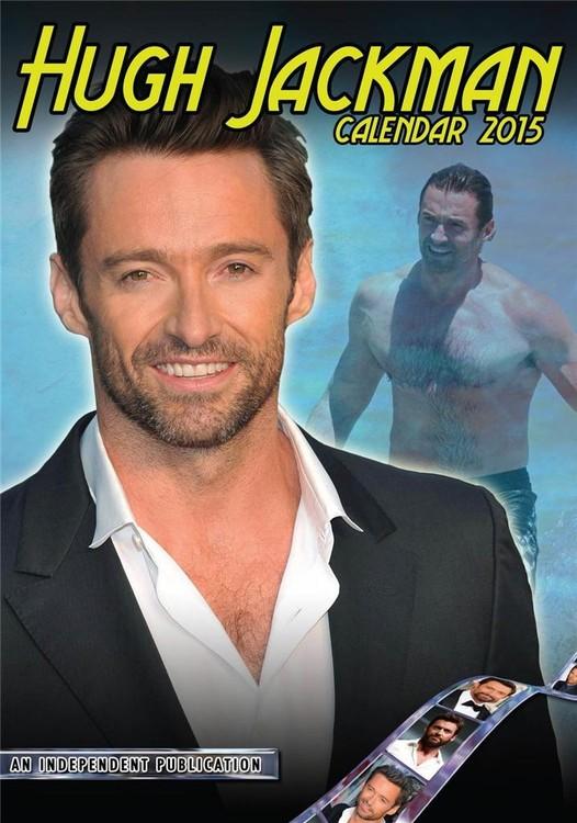 Kalendář 2017 Hugh Jackman