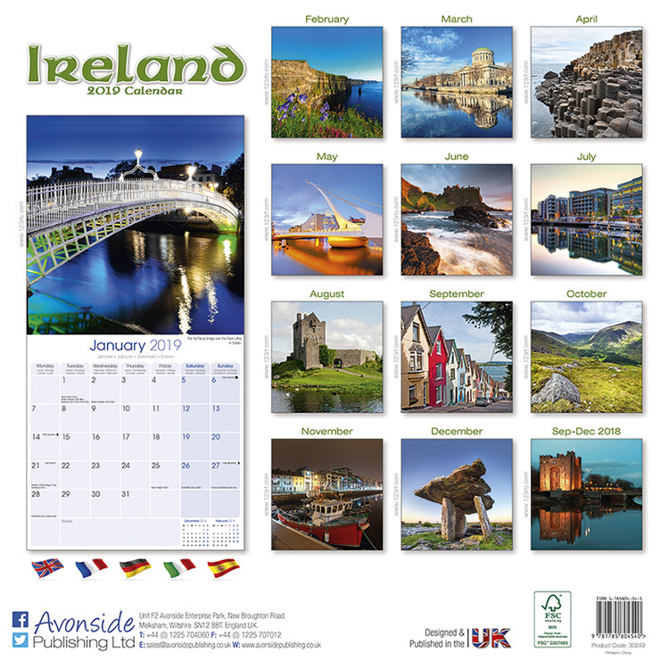 Kalendář 2020  Irsko