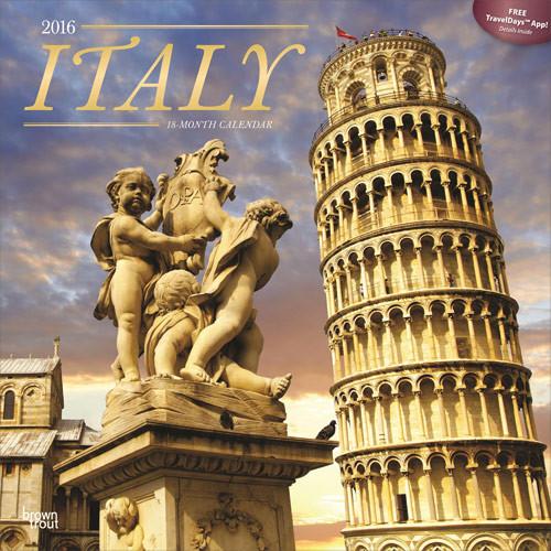 Kalendář 2017 Itálie