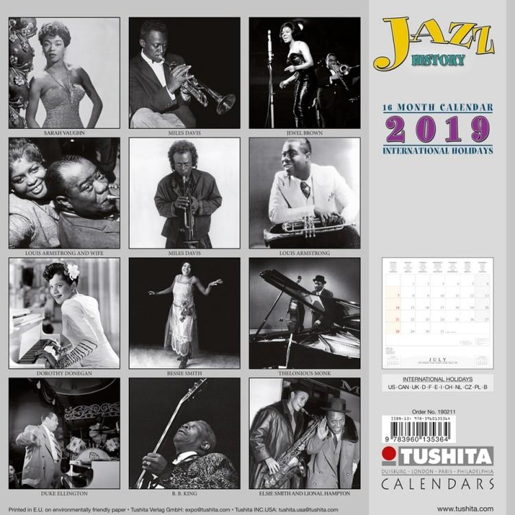 90ea10520a Kalendář 2019 Jazz - Historie Kalendář 2019 Jazz - Historie