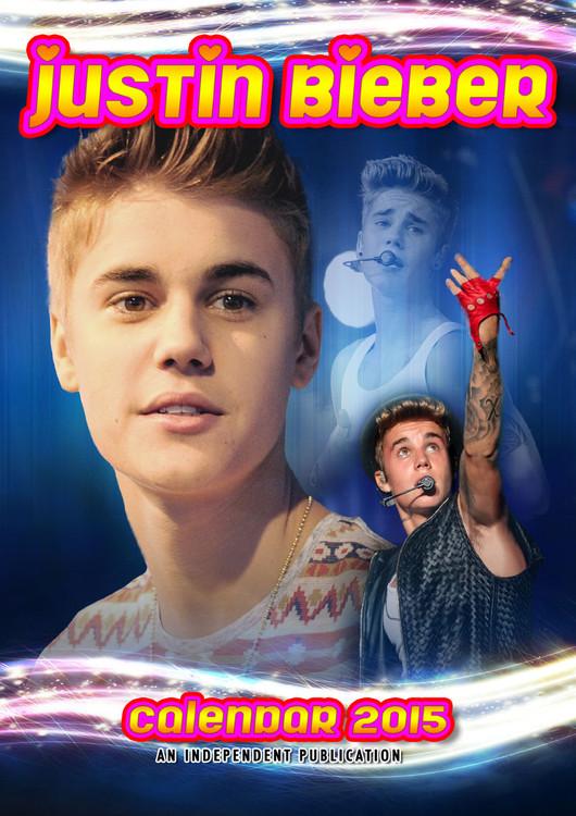 Kalendář 2017 Justin Bieber