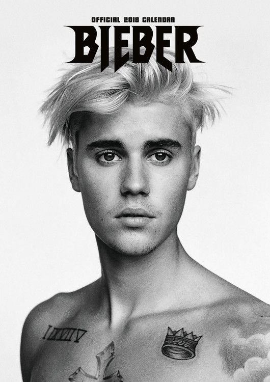 Kalendář 2019  Justin Bieber