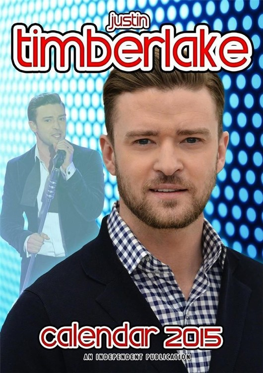Kalendář 2017 Justin Timberlake