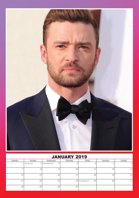 Kalendář 2020  Justin Timberlake