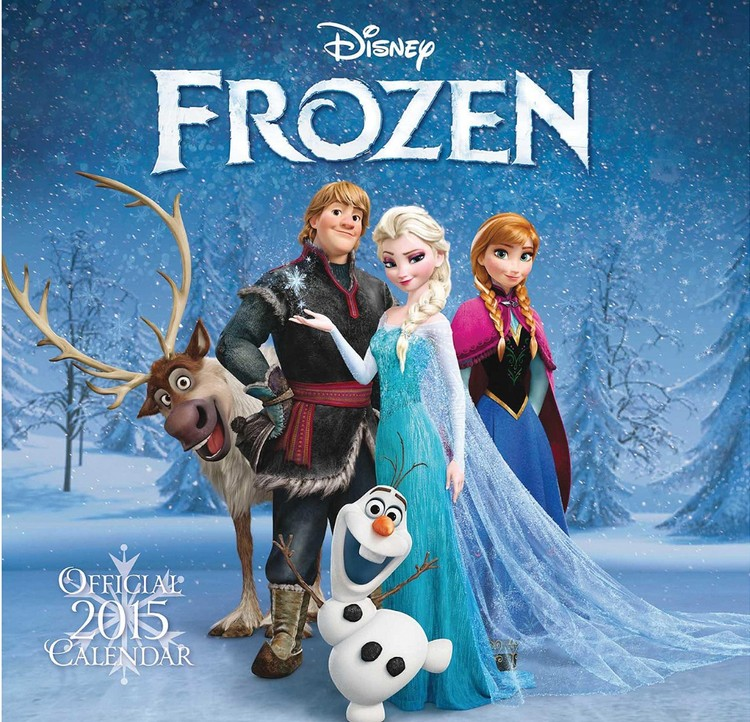 Kalendár 2018 Ľadové kráľovstvo