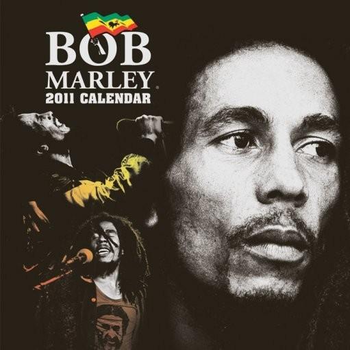 Kalendář 2017 Kalendář 2011 - BOB MARLEY