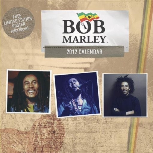 Kalendár 2017 Kalendár 2012 - BOB MARLEY