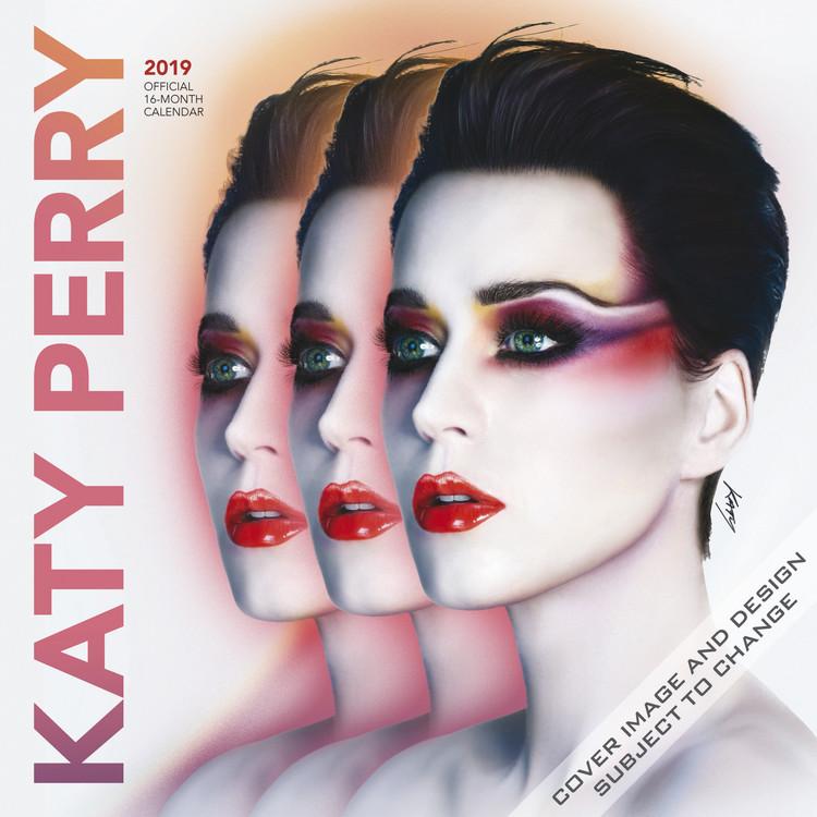 Kalendář 2019  Katy Perry
