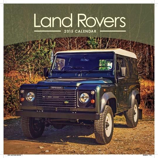 Kalendář 2017 Land Rover