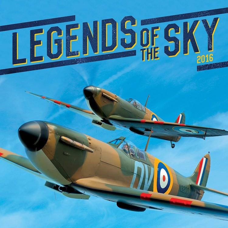 Kalendář 2020 Legends of the Sky