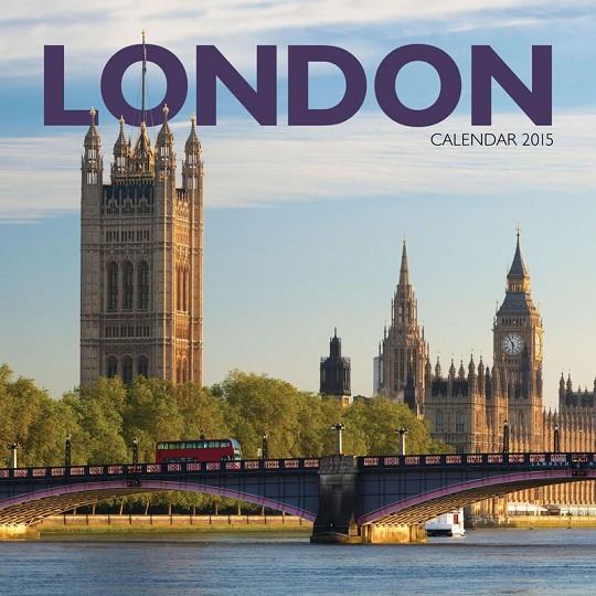 Kalendár 2017 Londýn