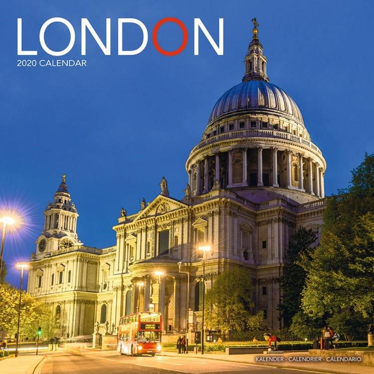Kalendář 2020  Londýn