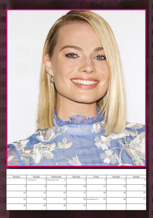 Kalendář 2020  Margot Robbie