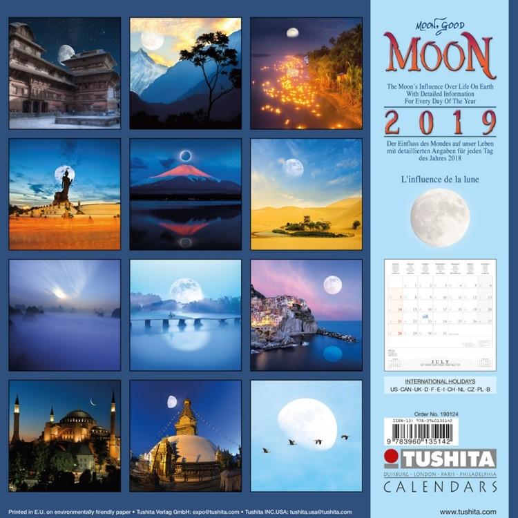 Kalendář 2019  Měsíc