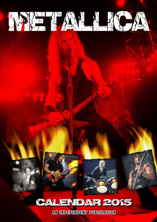 Kalendář 2017 Metallica