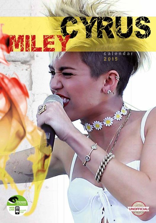 Kalendář 2017 Miley Cyrus