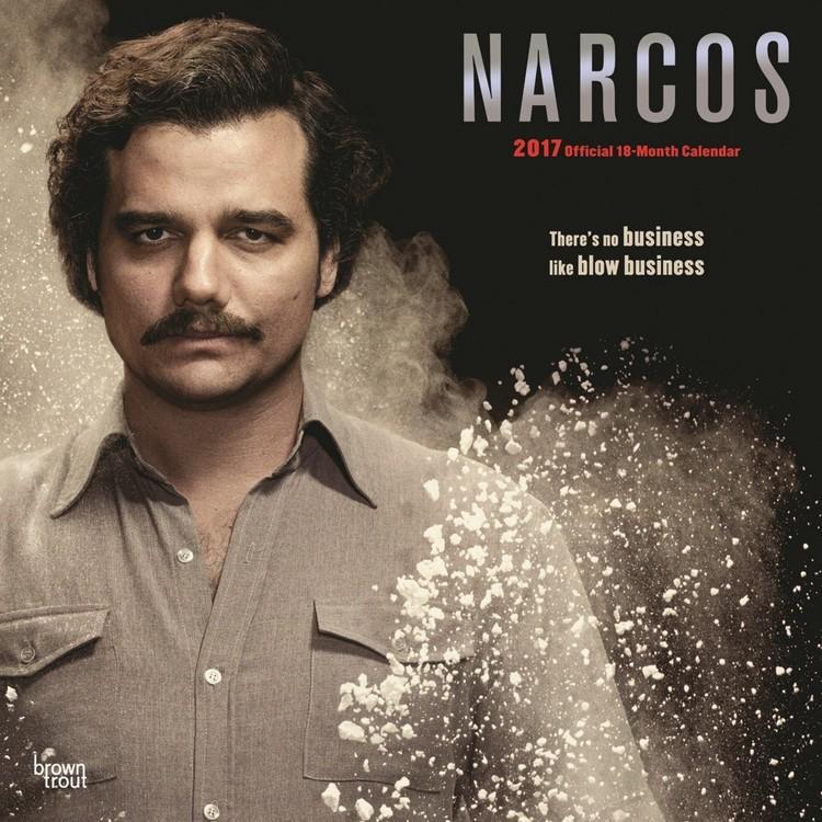 Kalendář 2017 Narcos