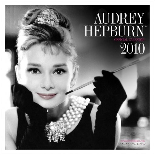 Kalendár 2017 Official Calendar 2010 Audrey Hepburn
