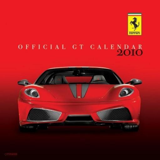 Kalendár 2017 Official Calendar 2010 Ferrari GT