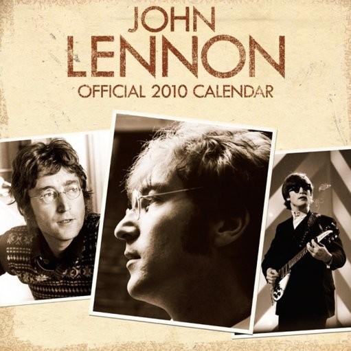 Kalendár 2017 Official Calendar 2010 John Lennon