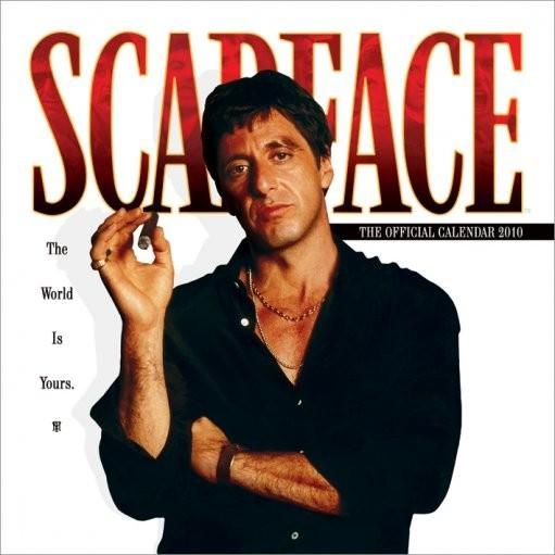 Kalendár 2017 Official Calendar 2010 Scarface