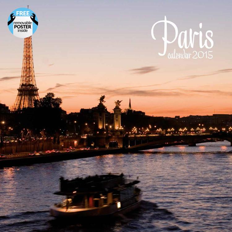 Kalendár 2017 Paris