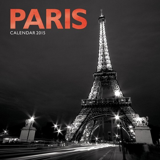 Kalendář 2017 Paříž