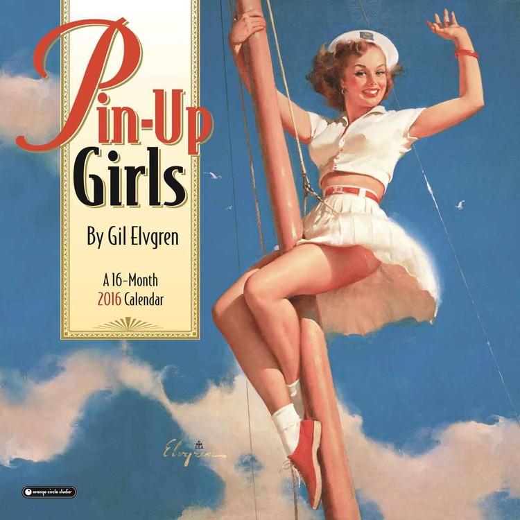 Kalendář 2017 Pin-Up Girls