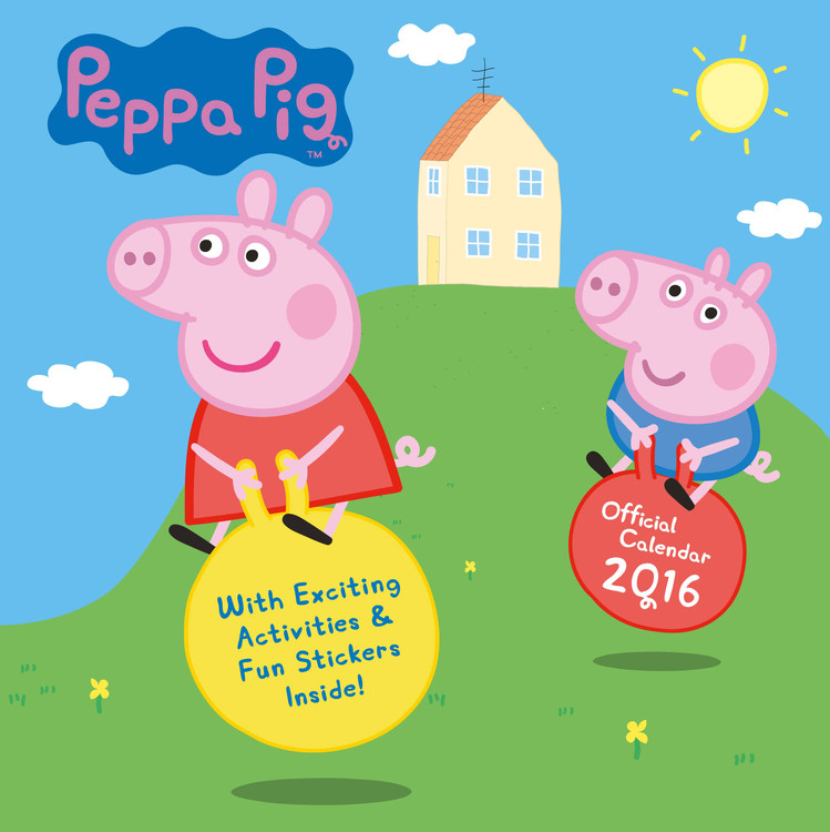 Kalendář 2017 Prasátko Peppa - Peppa Pig