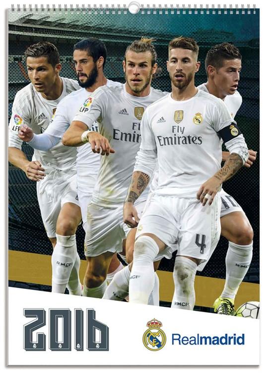 Kalendár 2018 Real Madrid CF