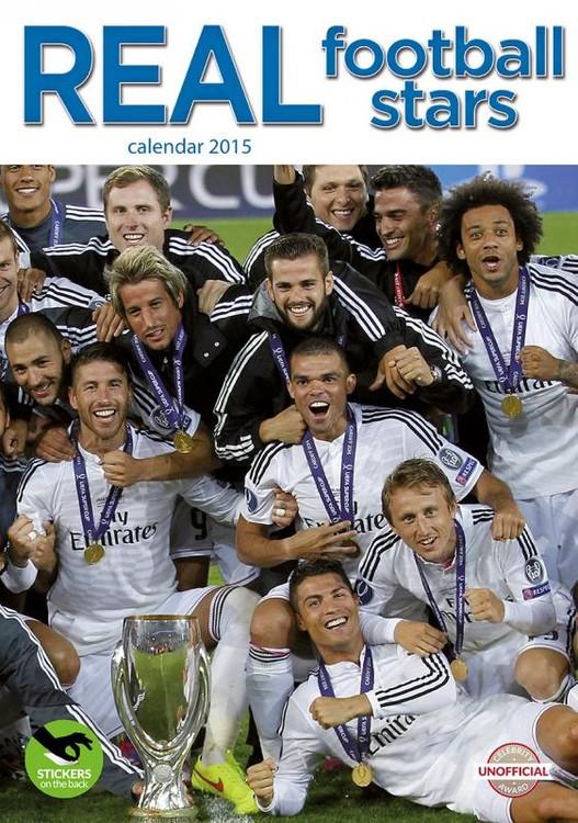 Kalendář 2017 Real Madrid FC
