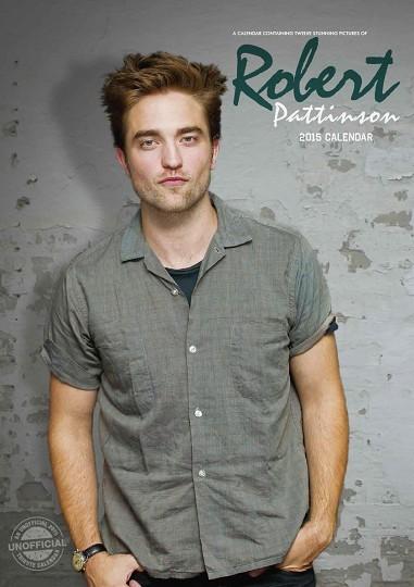 Kalendár 2017 Robert Pattinson