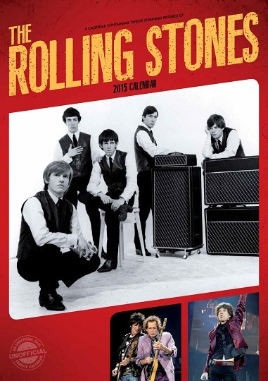 Kalendár 2017 Rolling Stones