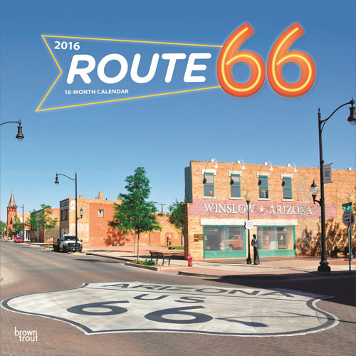 Kalendár 2017 Route 66