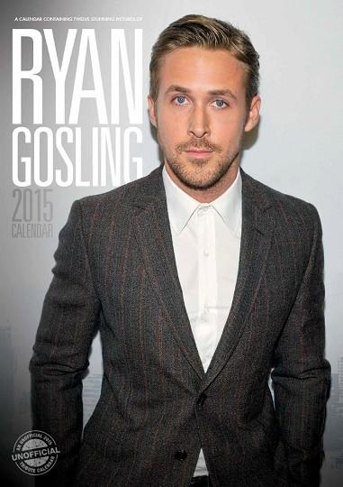 Kalendář 2017 Ryan Gosling