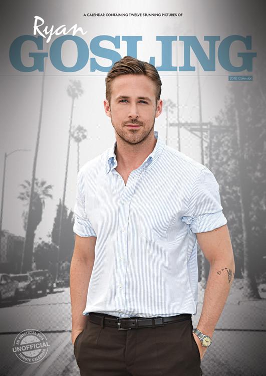 Kalendár 2017 Ryan Gosling