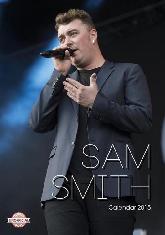 Kalendár 2017 Sam Smith