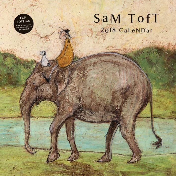 Kalendár 2018  Sam Toft