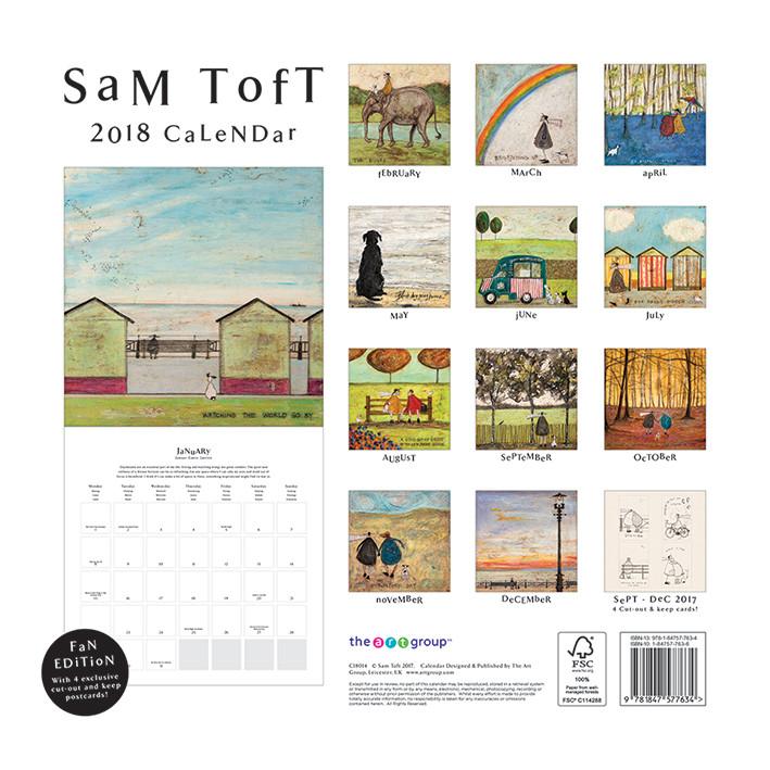 Kalendár 2019  Sam Toft