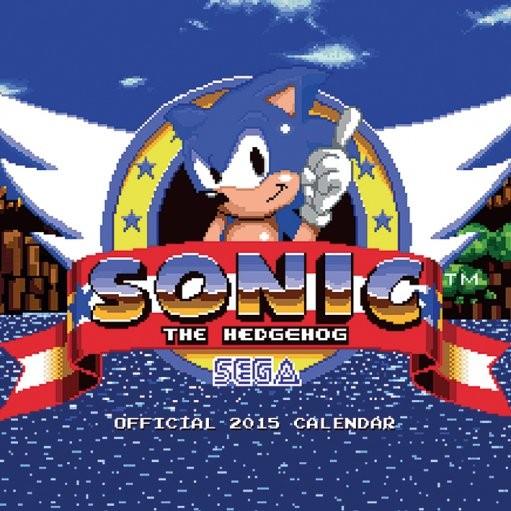 Kalendář 2017 Sonic