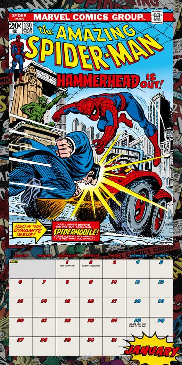 Kalendář 2021 Spiderman