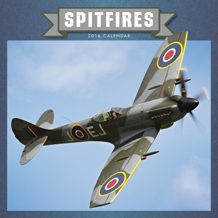 Kalendář 2017 Spitfire